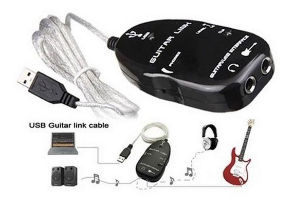 Guitar Link Usb Placa Fender + Parafusos Guitarra Baixo