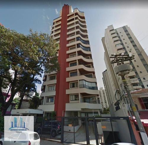 Imagem 1 de 28 de Apartamento Com 3 Dormitórios À Venda, 120 M² Por R$ 950.000,00 - Campo Belo - São Paulo/sp - Ap3460
