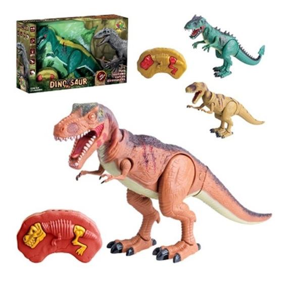 Dinossauro Tiranossauro Controle Remoto Oferta Frete Grátis!
