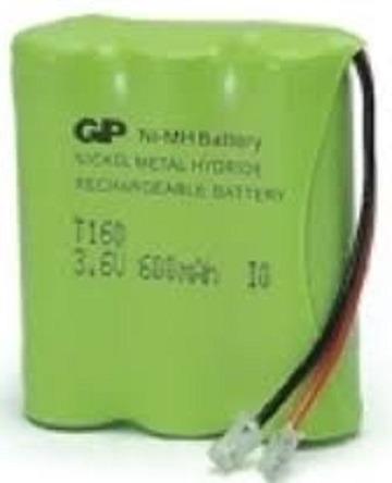 Bateria Gp Nimh T160 3.6v 600mah