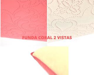 2 Fundas De Almohada King Size Reversible Varios Colores