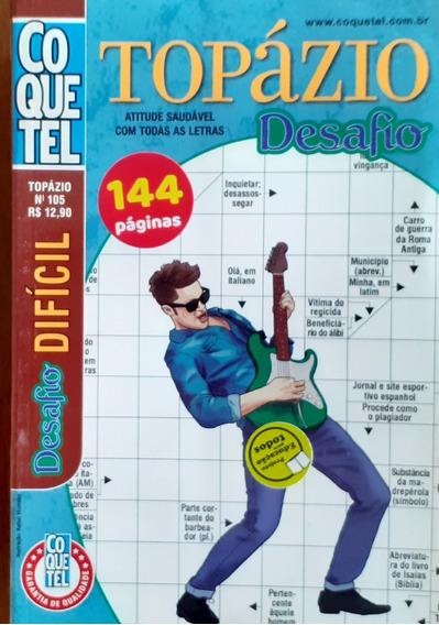 Kit Palavras Cruzadas Coquetel Nível Difícil / 07 Volumes.