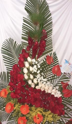 Floristeria Ramo Flores Rosas Dia De Las Madres Decoracion
