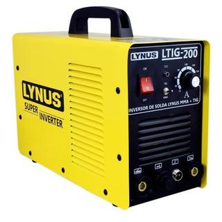 Inversora De Solda Mma Ltig 200a - 220v - Lynus