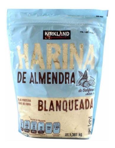 Imagen 1 de 3 de Harina De Almendras Importada De Eua. Kirkland. 1.36 Kgs