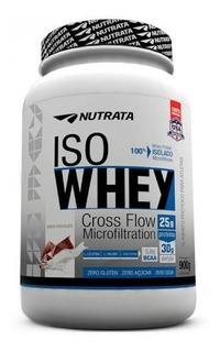 Iso Whey Nutrata 900g Proteina Isolado Wey Proten Nutrata