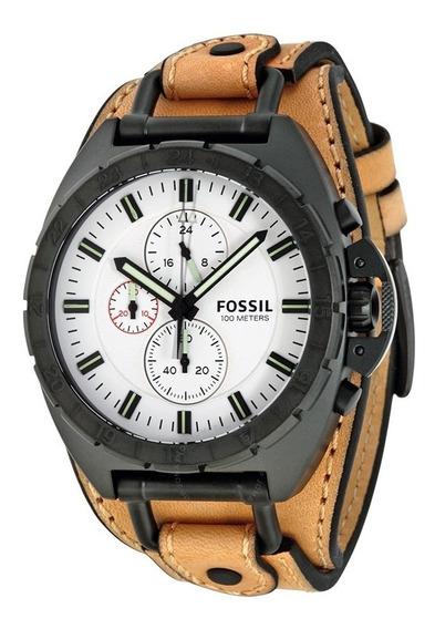 Relógio Fossil Masculino Ch3005 Marrom Original