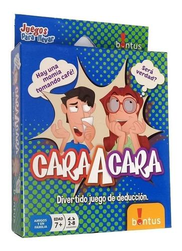 Cara A Cara - Juego De Cartas - Bontus Art.521 E.full