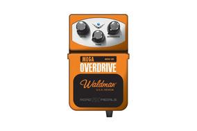 Pedal Waldman P/ Guitarra Mega Overdrive
