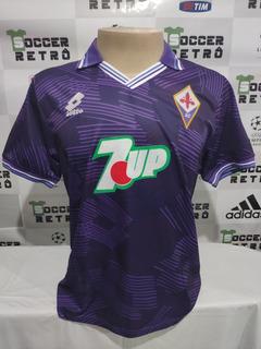 Camisa Fiorentina 1992-93 Batistuta 9 Seria A À P/ Entrega