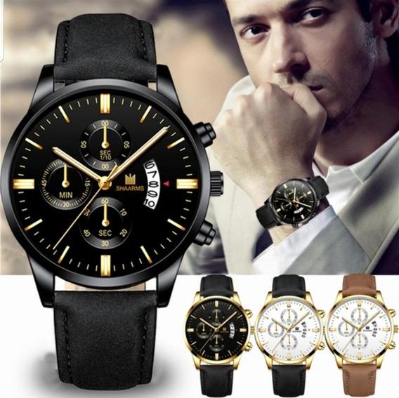 Relógio Masculino Shaarms, Produto Importado, Melhor Preço