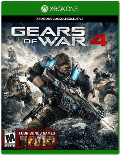 Gears Of War 4 - Xbox One Fisico