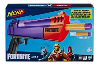 Lanzador Nerf Fortnite Hc-e Arma Original Hasbro Pistola