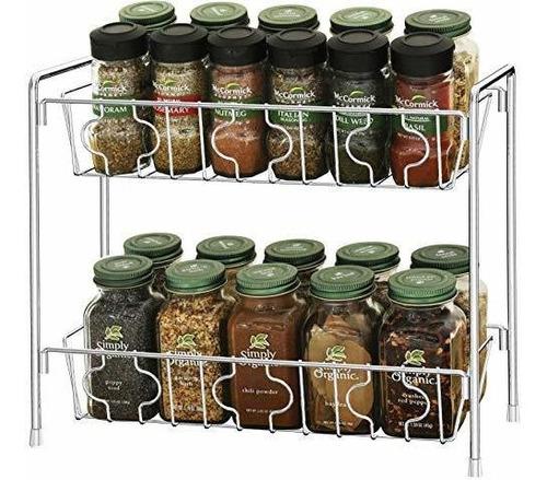 Simplehouseware 2 Niveles Organizador De Cocina Mostrador De