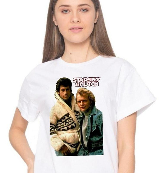 Playera Starsky And Hutch David Soul Serie De T V #03-21