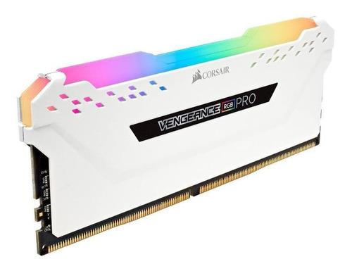 Memoria Ram Corsair Vengeance Rgb Pro 2x8 16gb 3200mhz White