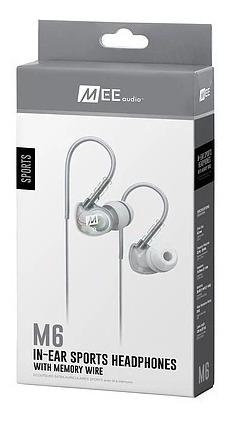 Fone Headphone In-ear Mee Audio M6 Retorno Clear Transparent