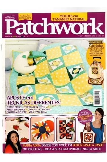 Revista Patchwork Coleção Boas Ideias - Com Moldes #4