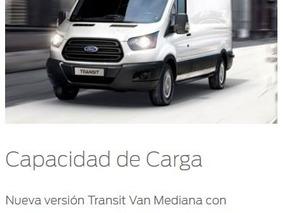Robayna | Transit Ford Mediano L2h2 Furgon 2018 0 Km Año