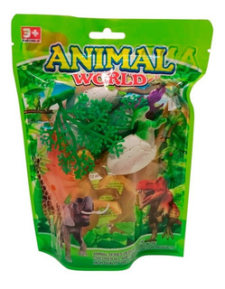 Dinosaurios De Juguete Animal World Para Niños