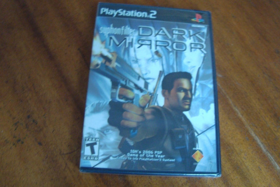 Ps2 / Jogo Syphon Filter Dark Mirror / Original Lacrado