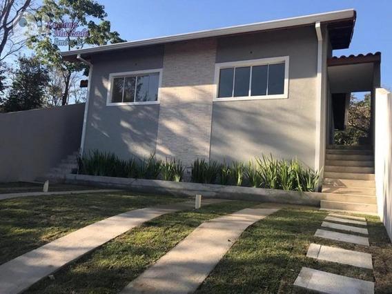 Casa Para Venda Em Atibaia, Jardim São Felipe, 2 Dormitórios, 1 Banheiro, 2 Vagas - Ca00620