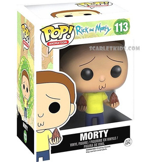 Funko Pop Morty 113 Rick Y Morty Original Scarlet Kids