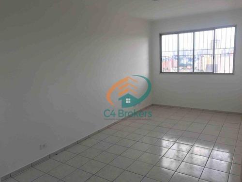 Imagem 1 de 15 de Apartamento Com 3 Dormitórios À Venda, 72 M² Por R$ 350.000,00 - Chácara Do Encosto - São Paulo/sp - Ap0535