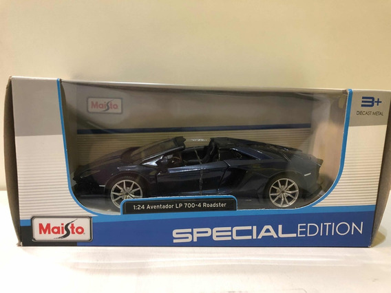 Auto Escala 1:24 Aventador Lp 700 4 Roadster
