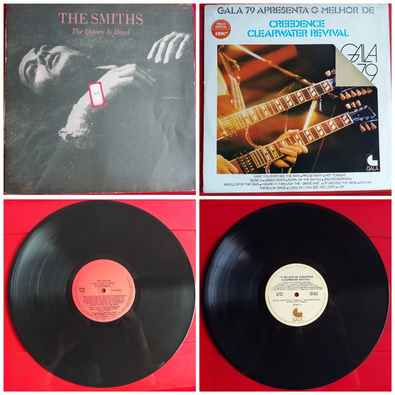 2 Lp - Smiths The Queen Is Dead / Creedence Gala 79 / Lote
