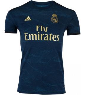 Camisa Real Madrid Azul 19/20 Oficial Promoção +frete Grátis