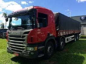 Scania P 310 Bitruck Carroceria 2012 Ótimo Estado + Ar Leito