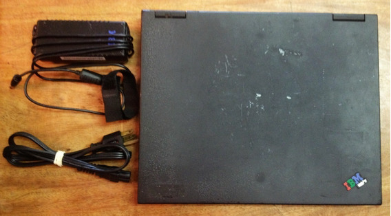 Notebook Ibm Thinkpad 600x - Tipo 2645-4eu - Retrô De 1999