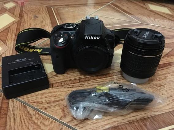 Nikon D3300 Com Lente 18-55 Vrii Novinha