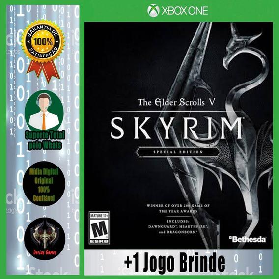 The Elder Scrolls V Skyrim Xbox One Midia Digital +1 Jogo