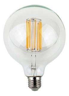 Ampolleta Led Vintage Luz Fria Gigante Retro G125 Watts