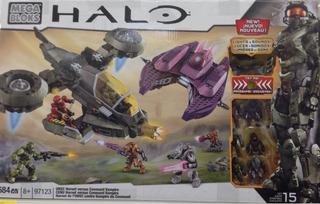 Halo Mega Blocks Unsc Hornet Vs Covenant Vampire Master