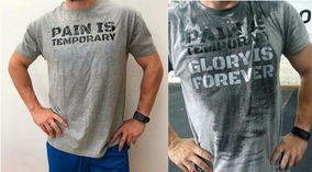 Sarcasmo Pain Is Temporary Visible Con Sudor Crossfit