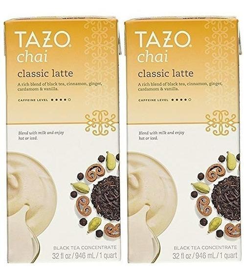 Tazo Té Chai Latte Concentrate 32 Oz (2x32 Ml)