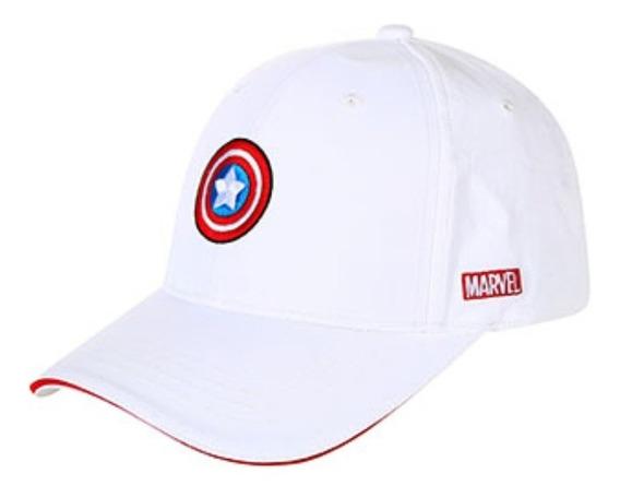 Boné Capitão América Marvel - Miniso