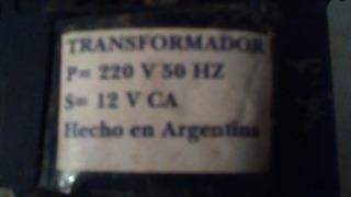 Transformador Ca 220v- 12v 50w Ideal Para Dicroicas