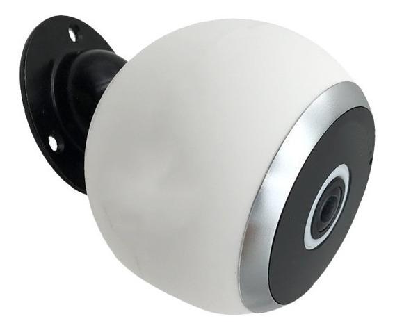 Camara Espia Mini Vision 360 Wifi Microfono Parlantes Grabac