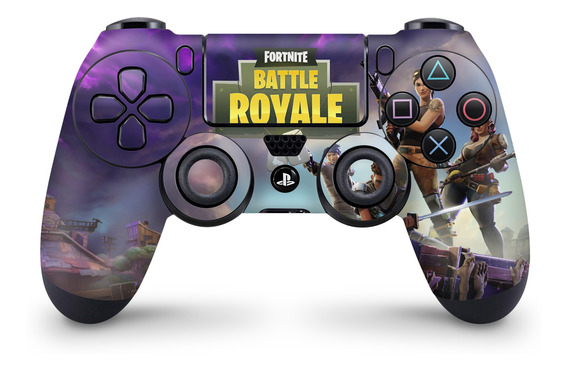 Skin Controle Ps4 Fortnite Battle Royale - 2 Unidades