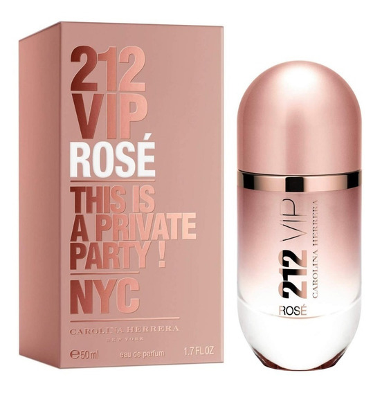 Perfume Carolina Herrera 212 Vip Rosé Feminino Eau De Parfum