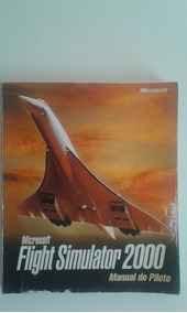 Livro Microsoft Flight Simulator 2000 - Manual Do Piloto