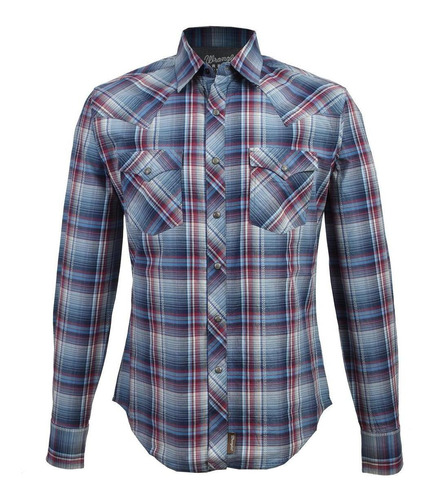 Camisa Vaquera Wrangler De Hombre 38b