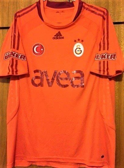 Camisa Galatasaray 2008/09 Kewell #19 Uniforme 2 Rara
