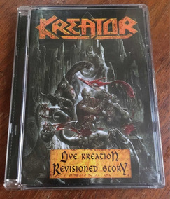 Kreator Live Kreation Revisioned Glory Dvd Importado