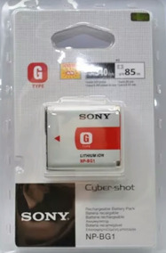 Bateria Sony H7 H9 H50 Np Bg1 Original Lacrada