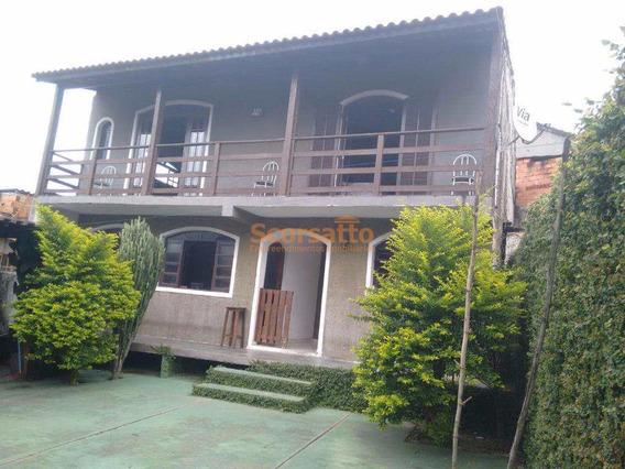 Casa Com 4 Dorms, Centro, Itapecerica Da Serra - R$ 550 Mil, Cod: 2153 - V2153